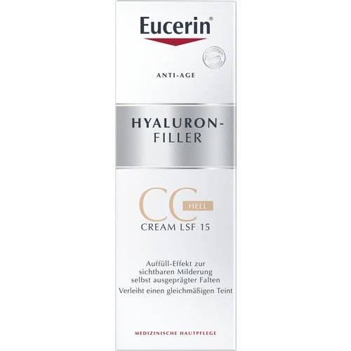 Eucerin Hyaluron-Filler CC Cream Light 50 ml is a BB & CC Cream
