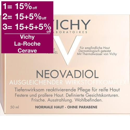 Vichy Neovadiol Compensating Complex Advanced Replenishing Care - Normal To Combination Skin 50 ml is a Day Cream