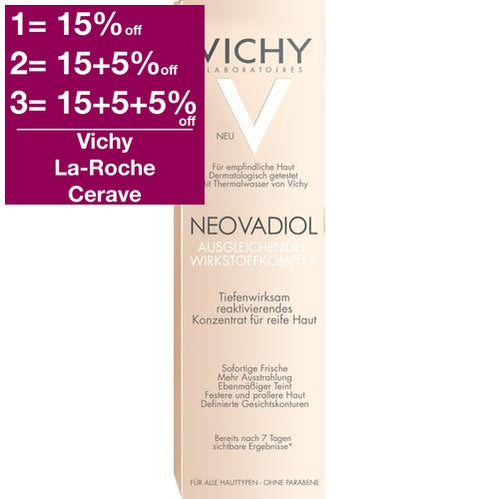Vichy Neovadiol Compensating Complex Advanced Replenishing Concentrate 30 ml is a Serum