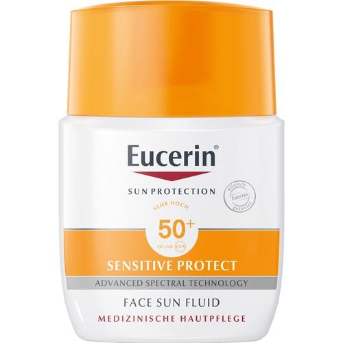 Eucerin Sun Fluid Mattifying Face SPF 50+ 50 ml is a Sunscreen for Face