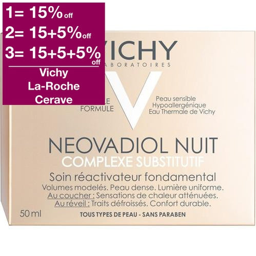 Vichy Neovadiol Night Cream 50 ml is a Night Cream