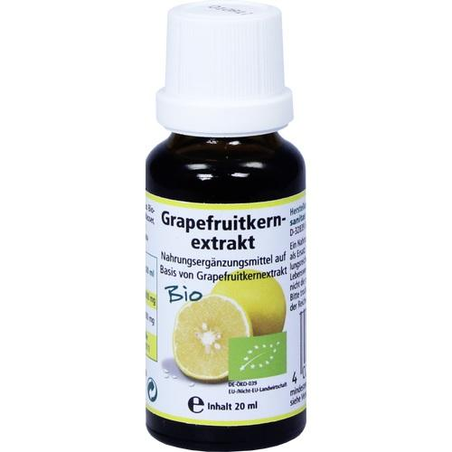 Sanitas Gmbh & Co. Kg Grapefruit Seed Extract Organic Solution 20 ml
