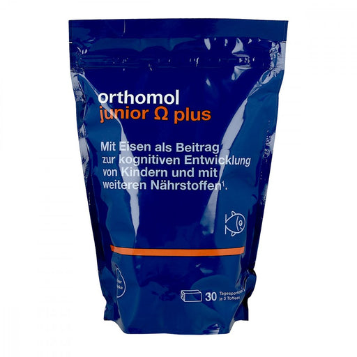 Orthomol Junior Chewable Omega 3 Tablet - new packaging