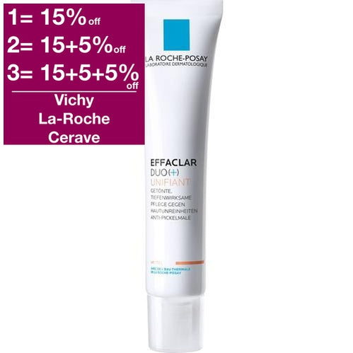 La Roche-Posay Effaclar Duo + Unifiant Cream (Mid) 40 ml is a Acne Treatment