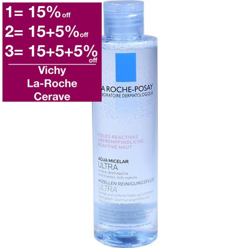 La Roche-Posay Micellar Water Ultra for Reactive skin  is a Make Up Remover