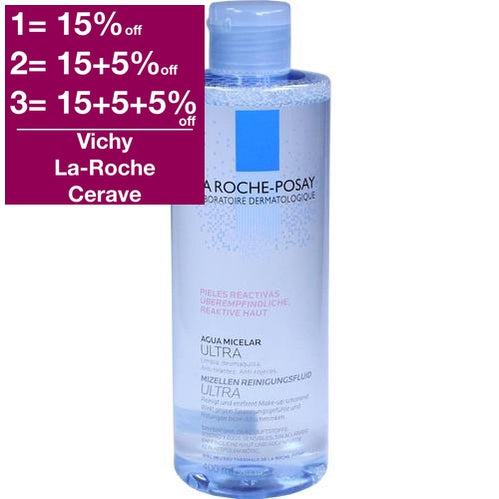 La Roche-Posay Micellar Water Ultra for Reactive skin