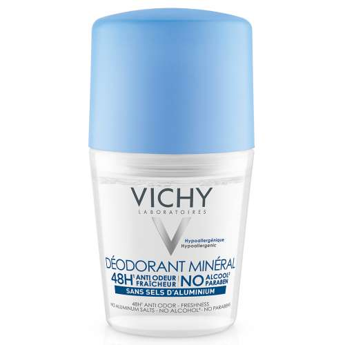 Vichy Roll-on Mineral 48h Deodorant - No Aluminum
