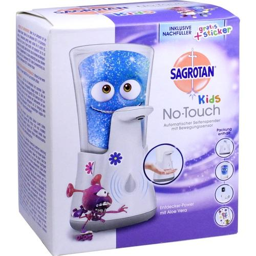 Sagrotan Kids Automatic Soap Dispenser - Baby Shower & Hair Wash