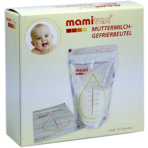 Kaweco Gmbh Mamivac Freezer Bags For Breast Milk 20 pcs