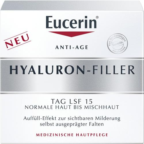 Eucerin Hyaluron-Filler Day Cream for Normal to Combination Skin SPF15 50 ml is a Day Cream