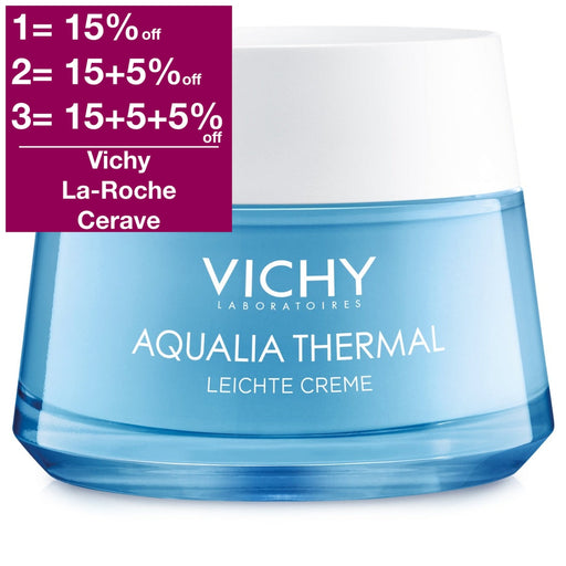 Vichy Aqualia Thermal Light Cream 50 ml - New Packaging