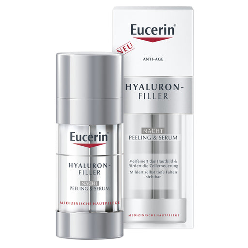 Eucerin Hyaluron Filler Night Peeling & Serum
