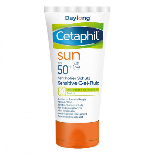 New version - Cetaphil Sun Daylong Sensitive Gel-Fluid Face SPF 50+