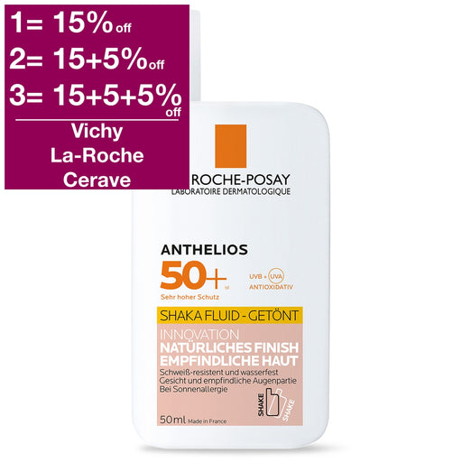 La Roche-Posay Anthelios XL Ultra-Light Shaka Fluid SPF 50+ (tinted) 50ml