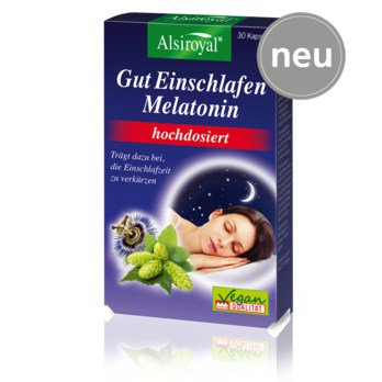 Alsiroyal Melatonin High Dose 30 pcs is a Herbs