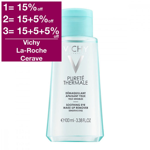 Vichy Purete Thermale Eye Makeup Remover Sensitive 100 ml