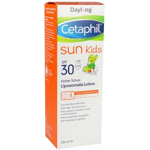 Cetaphil Sun Daylong Kids SPF 30 Lotion liposomal 200 ml belongs to the category of sun lotion