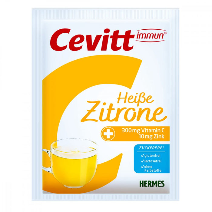 Cevitt Immune Hot Drink - Lemon (sugar free) 14 sachets