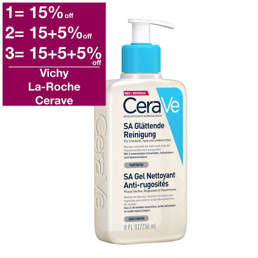 CeraVe SA Smoothing Cleanser 236 ml
