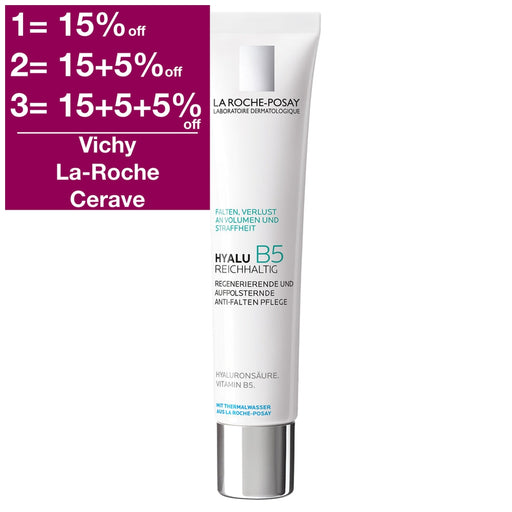 La Roche-Posay Hyalu B5 Rich Anti-Wrinkle Cream 40 ml