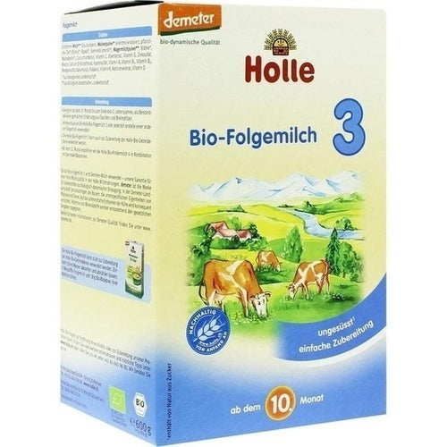 Holle Baby Food Ag Holle Organic Infant Follow-On Formula 3 600 g