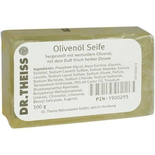 Dr. Theiss Naturwaren Gmbh Dr.Theiss Olive Oil Soap 100 g