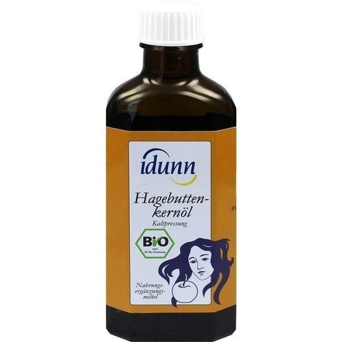 Idunn Naturprodukte Rose Hip Seed Oil Idunn Cold Pressing 100 ml
