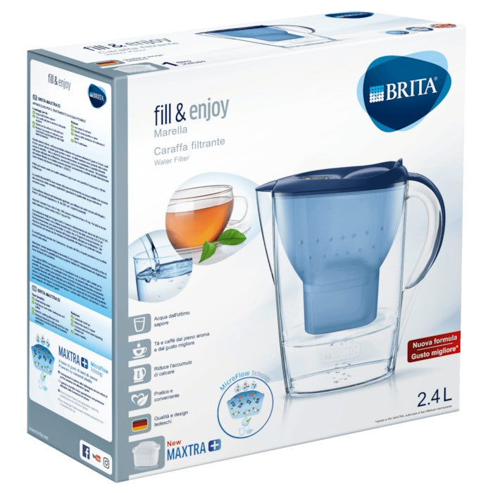 Brita Fill & Enjoy Marella Water Filter Maxtra + 2.4 L