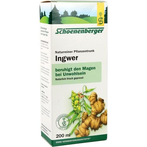 Salus Pharma Gmbh Ginger Plants Trunk Schoenberger 200 ml