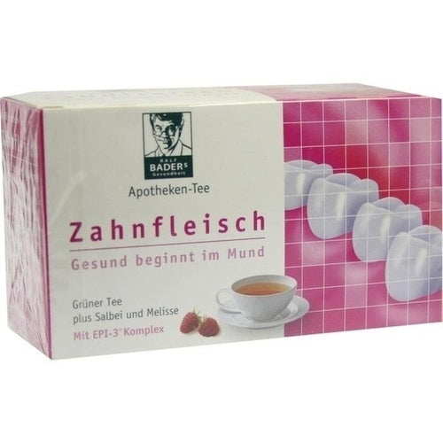 Epi-3 Healthcare Gmbh Bader Pharmacies Tea Gums Filter Bag 20 pcs