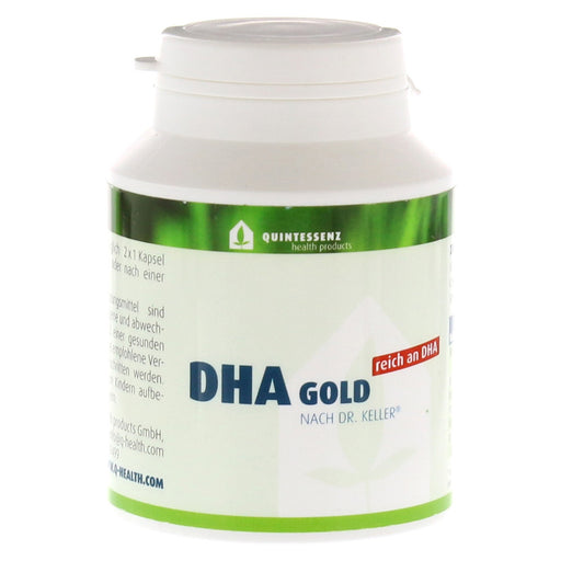 Dha Gold By Dr.Keller Capsules 120 pcs