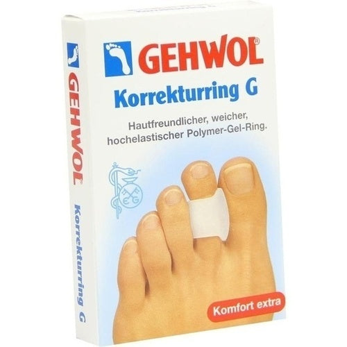Eduard Gerlach Gmbh Gehwol Polymer Gel Correction Ring G 3 pcs