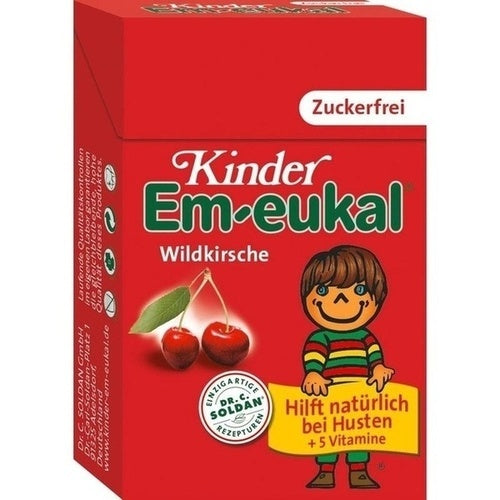 Dr. C. Soldan Gmbh Em Eukal Children Candy Sugar Free Pocketbox 40 g