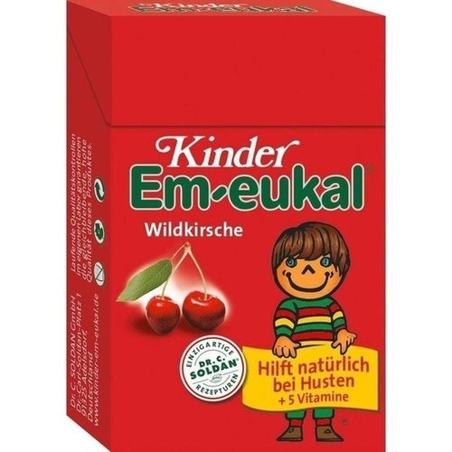 Dr. C. Soldan Gmbh Em Eukal Children Sweets Sugary Pocketbox 40 g