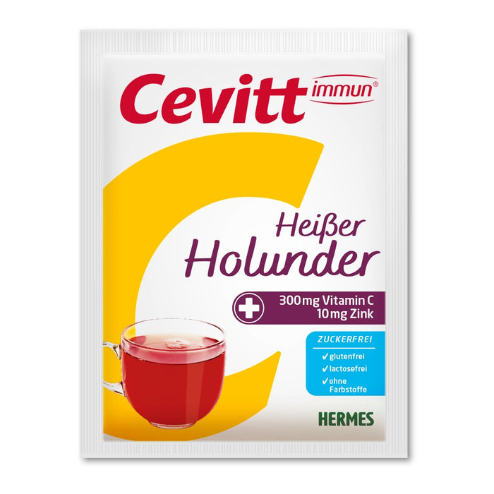HERMES Cevitt Hot Drink - Elderberry (sugar free) sachet