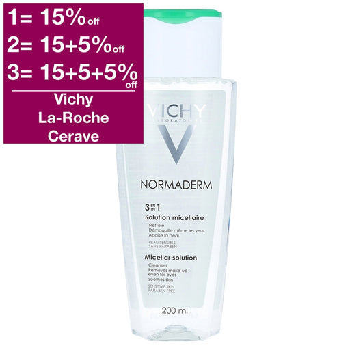 Vichy Normaderm 3-in-1 Micellar Solution 200 ml