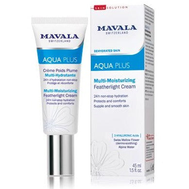 Mavala Aqua Plus Multi-Moisturizing Featherlight Cream 45 ml