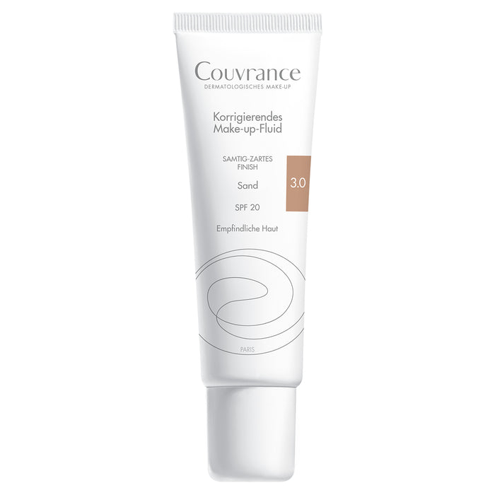 Avene Couvrance Correcting Makeup Fluid | Foundation for sensitive skin | VicNic