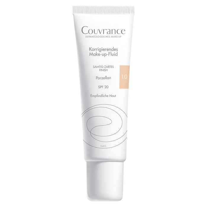 Avene Couvrance Make Up Fluid 1.0 Porzellan | Make up