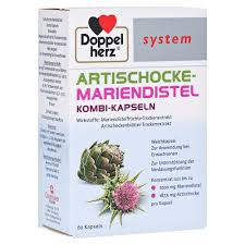 Doppelherz Artichoke-Saint Mary's Thistle Combination