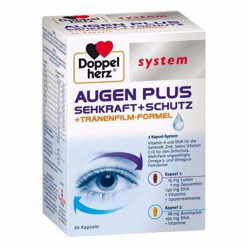 Doppelherz System Collection: Eye Plus - Vision, Protection & Tear Film Formula
