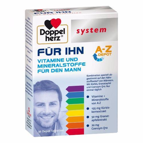 Doppelherz System Collection: For HIM Vitamins & Minerals
