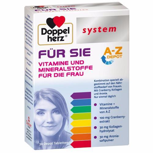 Doppelherz System Collection: For HER Vitamins & Minerals