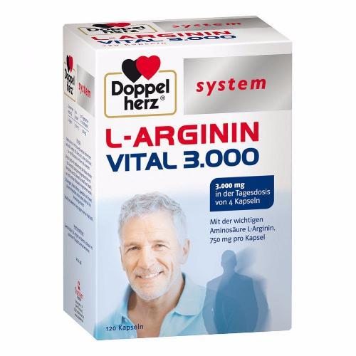 Doppelherz System Collection: L-arginine Vital 3,000