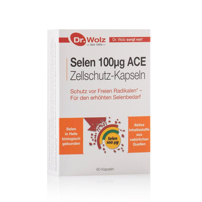 Dr. Wolz Selen 100μg ACE Cell Protection Capsules