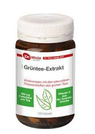 Dr. Wolz Green Tea Extract 120 pcs is a Herbs