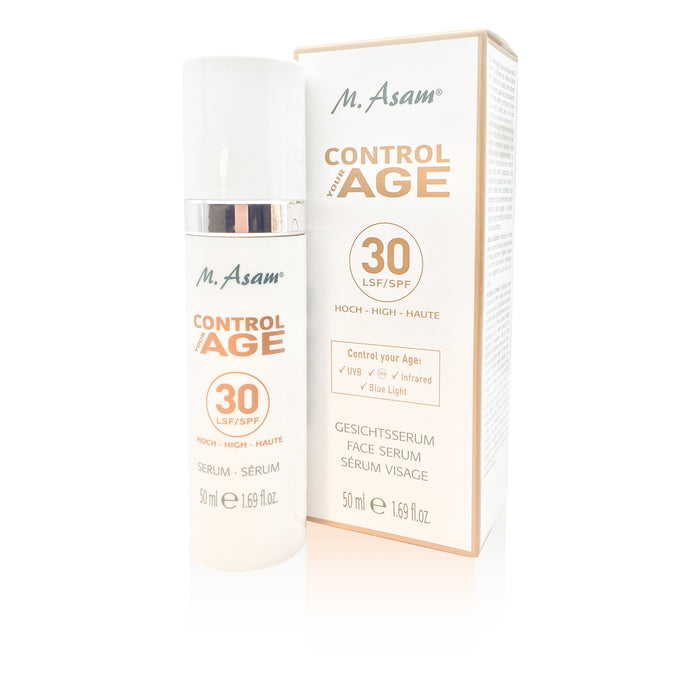 M Asam Control Your Age Serum UV Protection SPF 30 & Anti Aging 50 ml