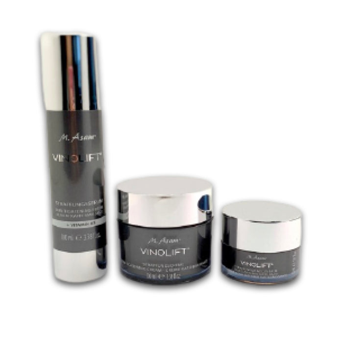 M Asam Vinolift Firming Set: Firming Cream + Serum + Eye Balm the set