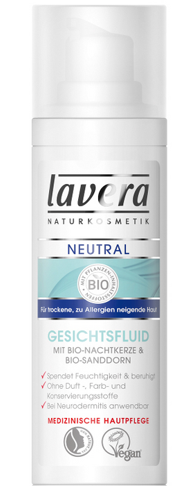 Lavera Neutral Face Fluid 50 ml