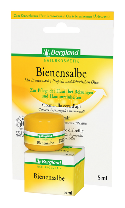 Bergland Bees Ointment 5 ml is a 24H Cream